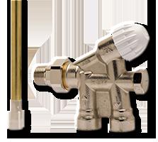 IMI Heimeier однотрубный клапан ARCU K 100 M 34x1,5, AG FPL, f seitl. 1punktanschl. 50681005