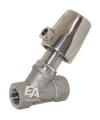 Клапан для воды / с наклонным седлом / из нержавеющей стали
