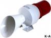Модуль сигнализатора, 230ВAC, гудок, мигающий световой сигнал