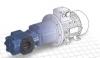 Насос для химических продуктов / с асинхронным двигателем / с зубчатой передачей / испытательный