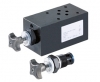 SDRV700 - дроссель - предохранительные клапаны NG6