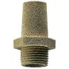 Глушитель нагнетания / для сжатого воздуха / из бронзы / из пластика