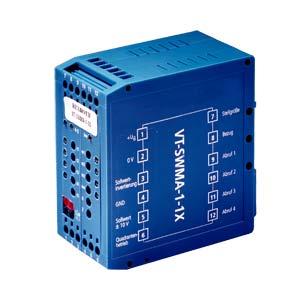 Модуль заданного значения, аналог., модульная конструкция VT-SWMA-1-1X